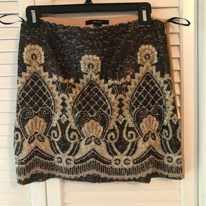 Forever 21 Beaded and Sequin Skirt